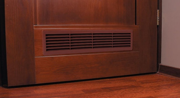 A door grille might be the answer to poor airflow.