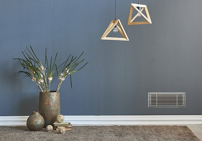 Here is an example of a wall grille.