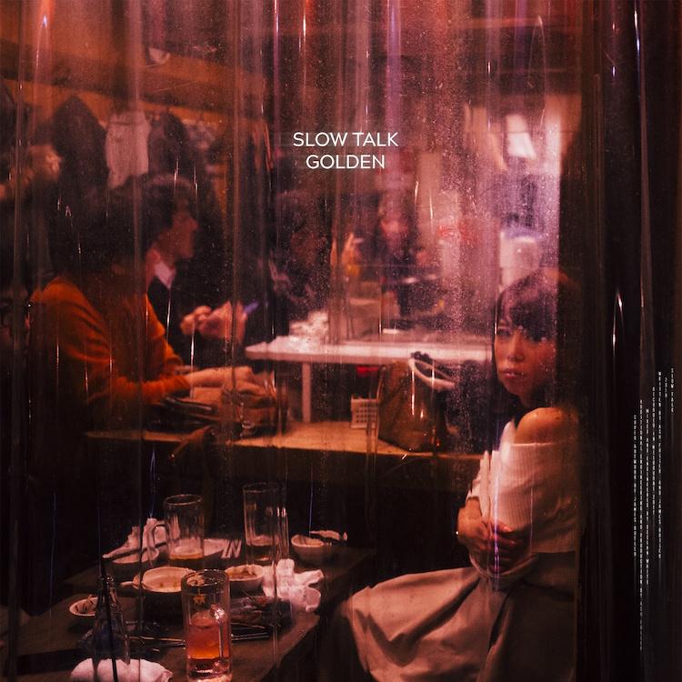 Golden single artwork by Slow Talk