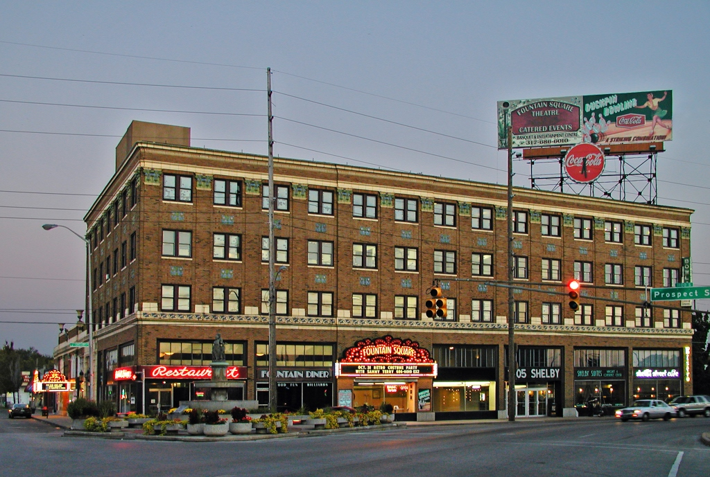 FOUNTAIN SQUARE THEATRE BUILDING, INDIANAPOLIS, IN