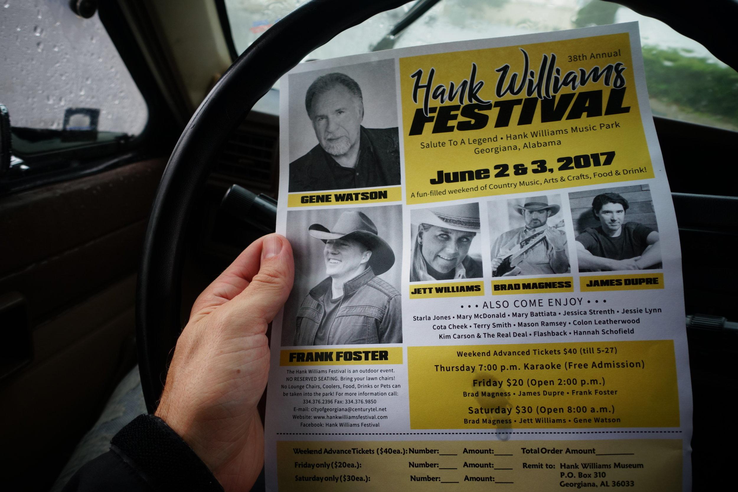 Hank Williams Sr. Festival