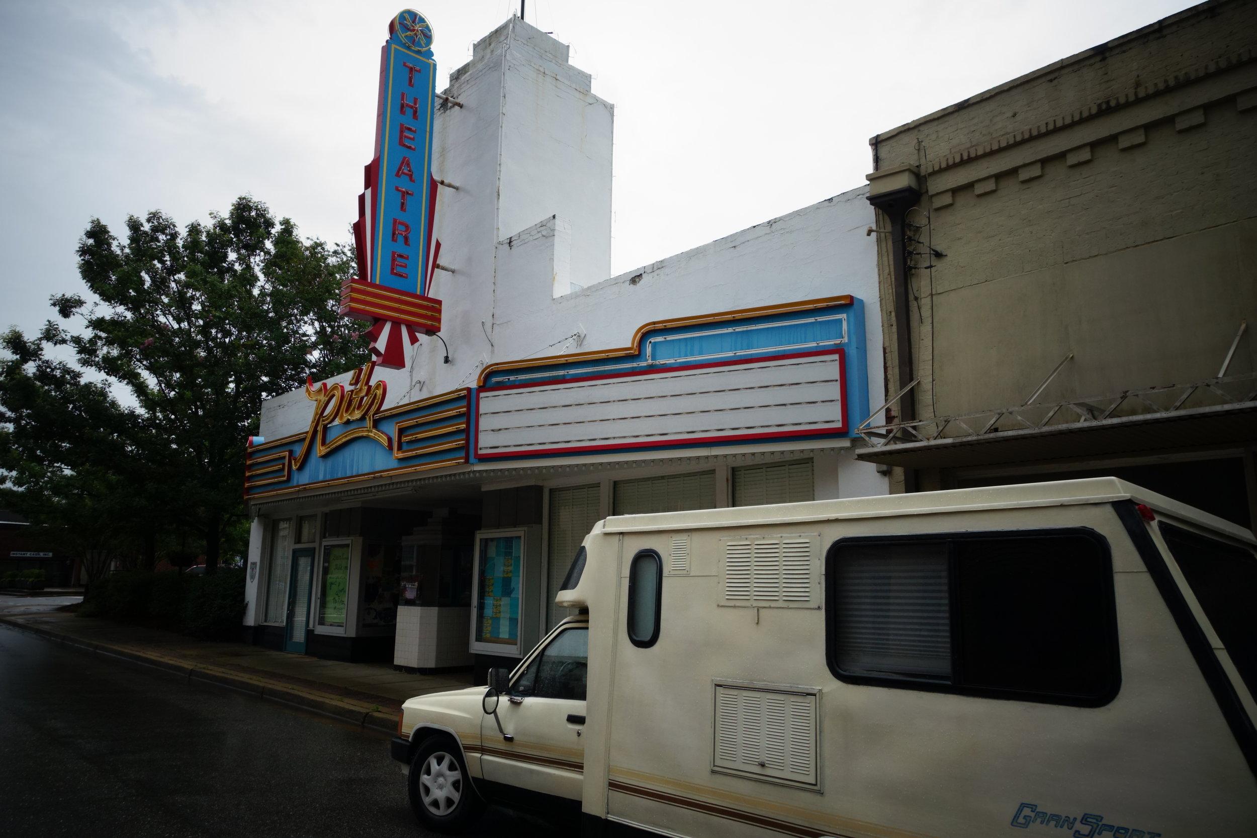 The Ritz Theatre in Greenville, AL