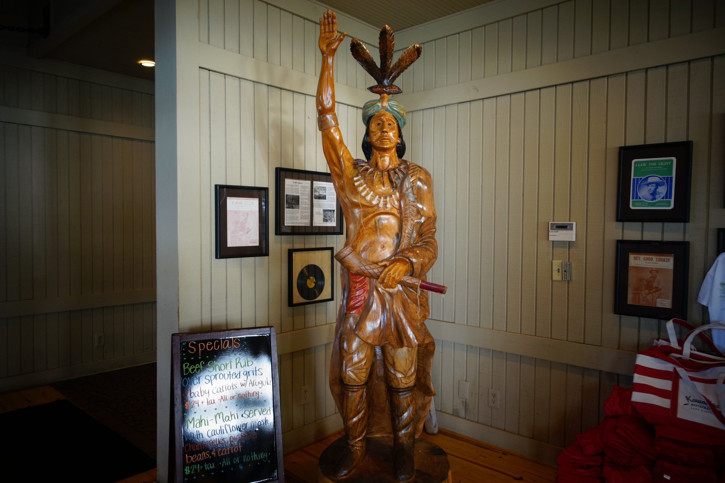 The Wooden Indian