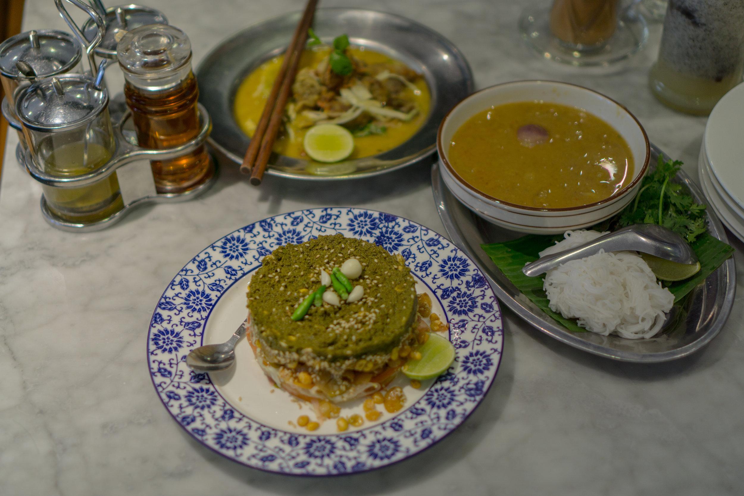 Rangoon Tea House Tea Leaf Salad and Moving