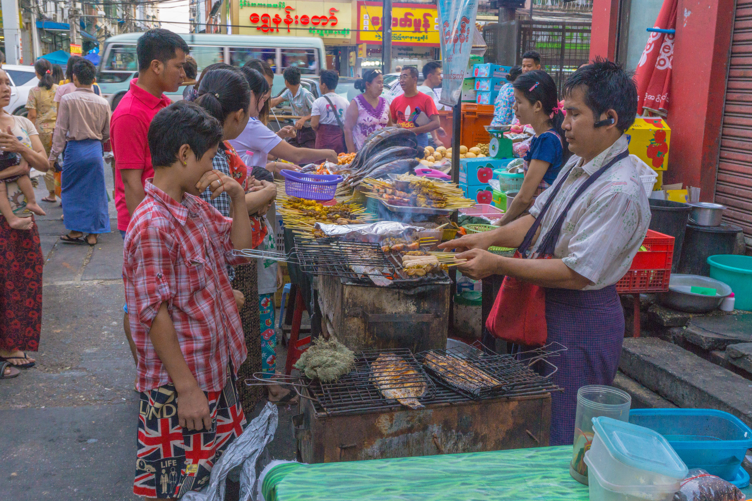 19th Street BBQ Chinatown Yangon