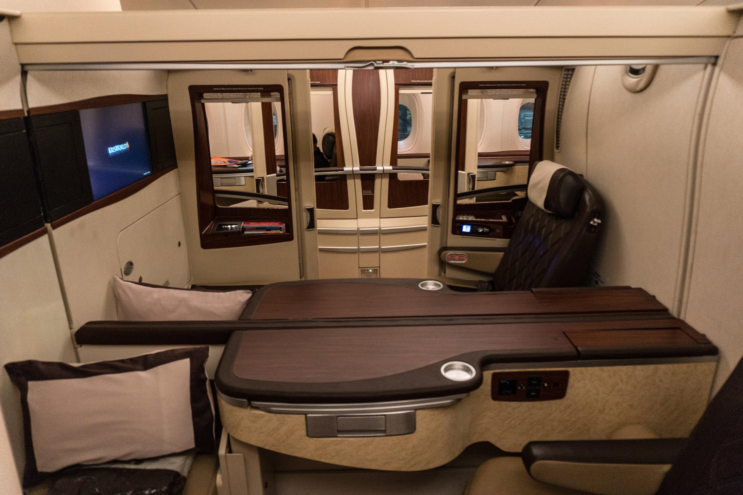 SQ A380 Suites