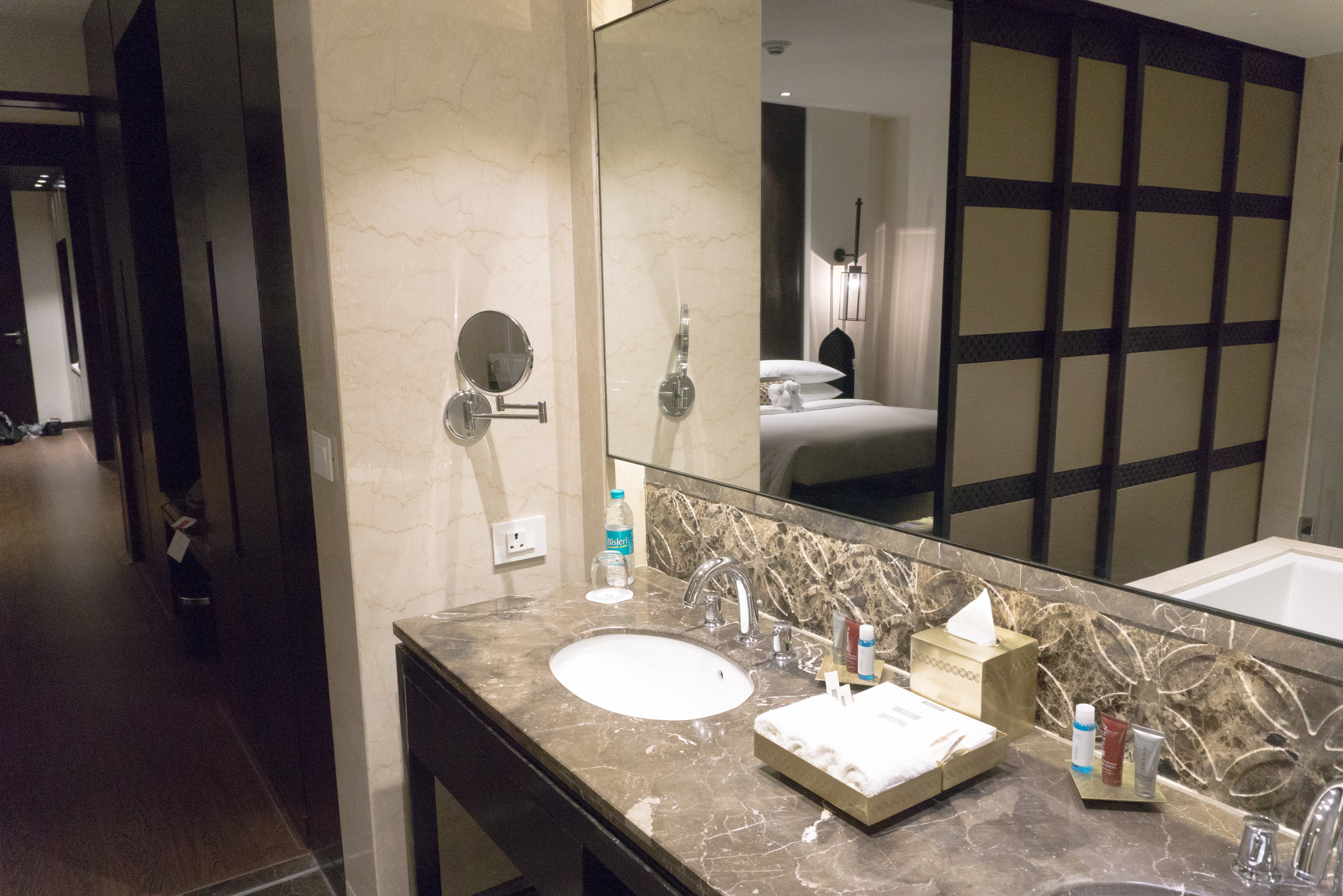 Bathroom counters