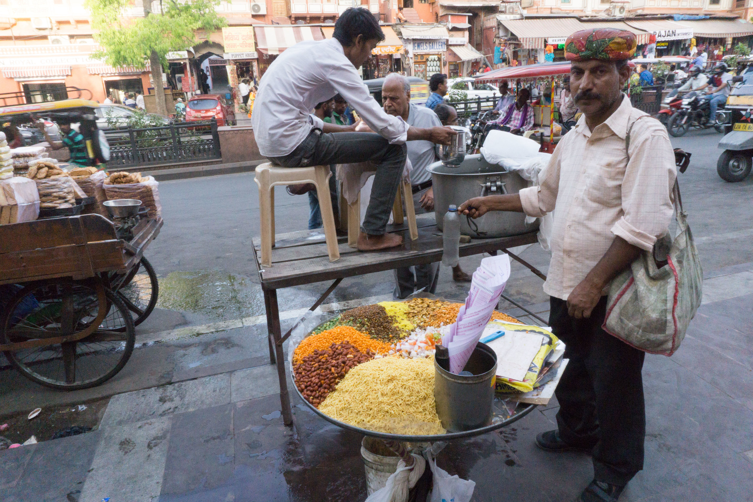 One of our favorite street foods - Bhel