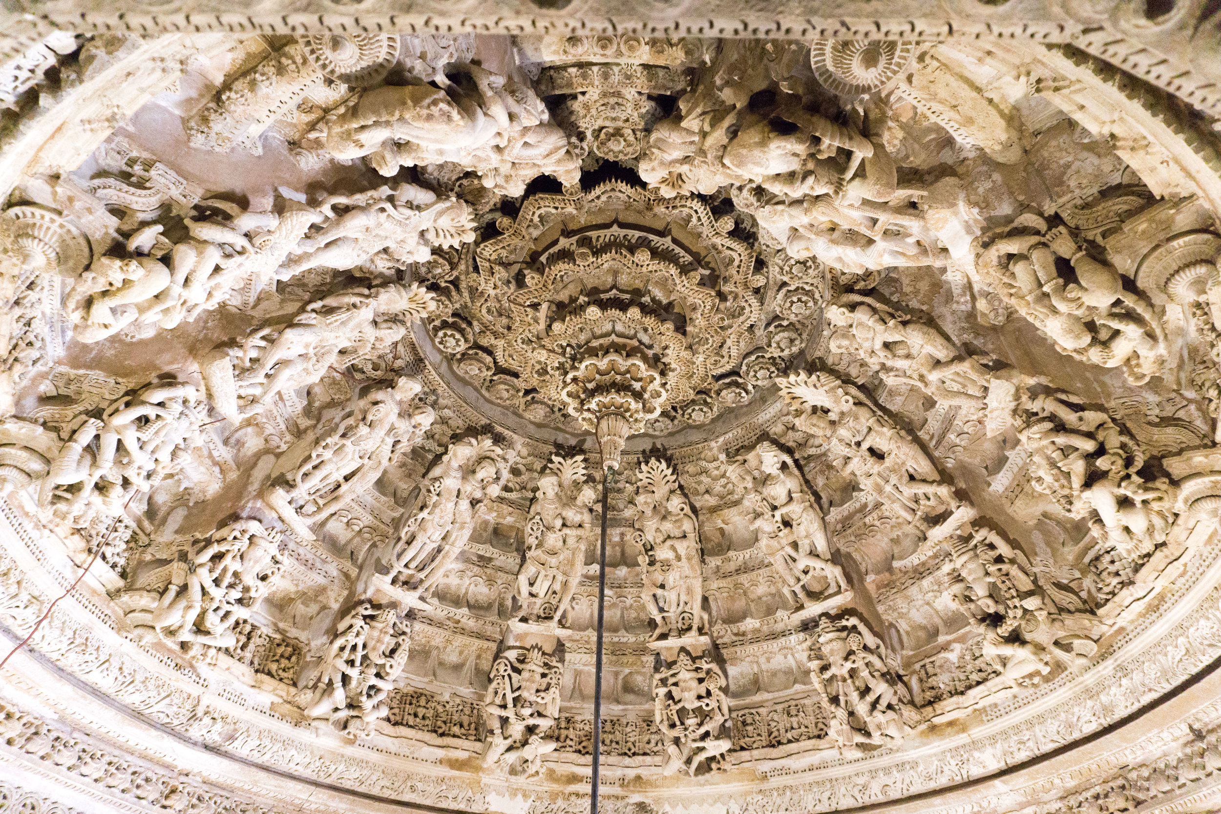 Ceiling of the Jain Temple Jaisalmer