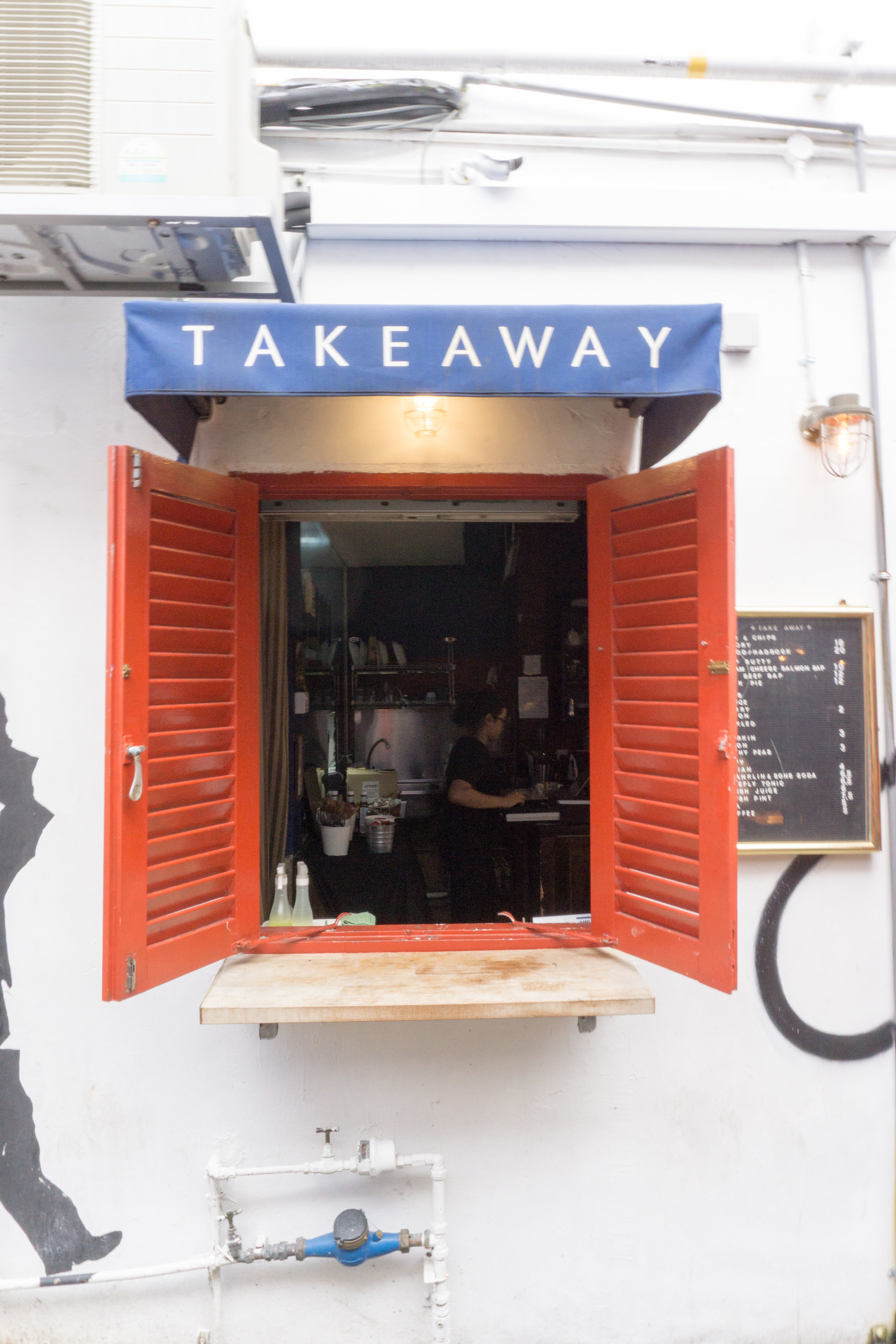 Takeaway around Hajji Lane