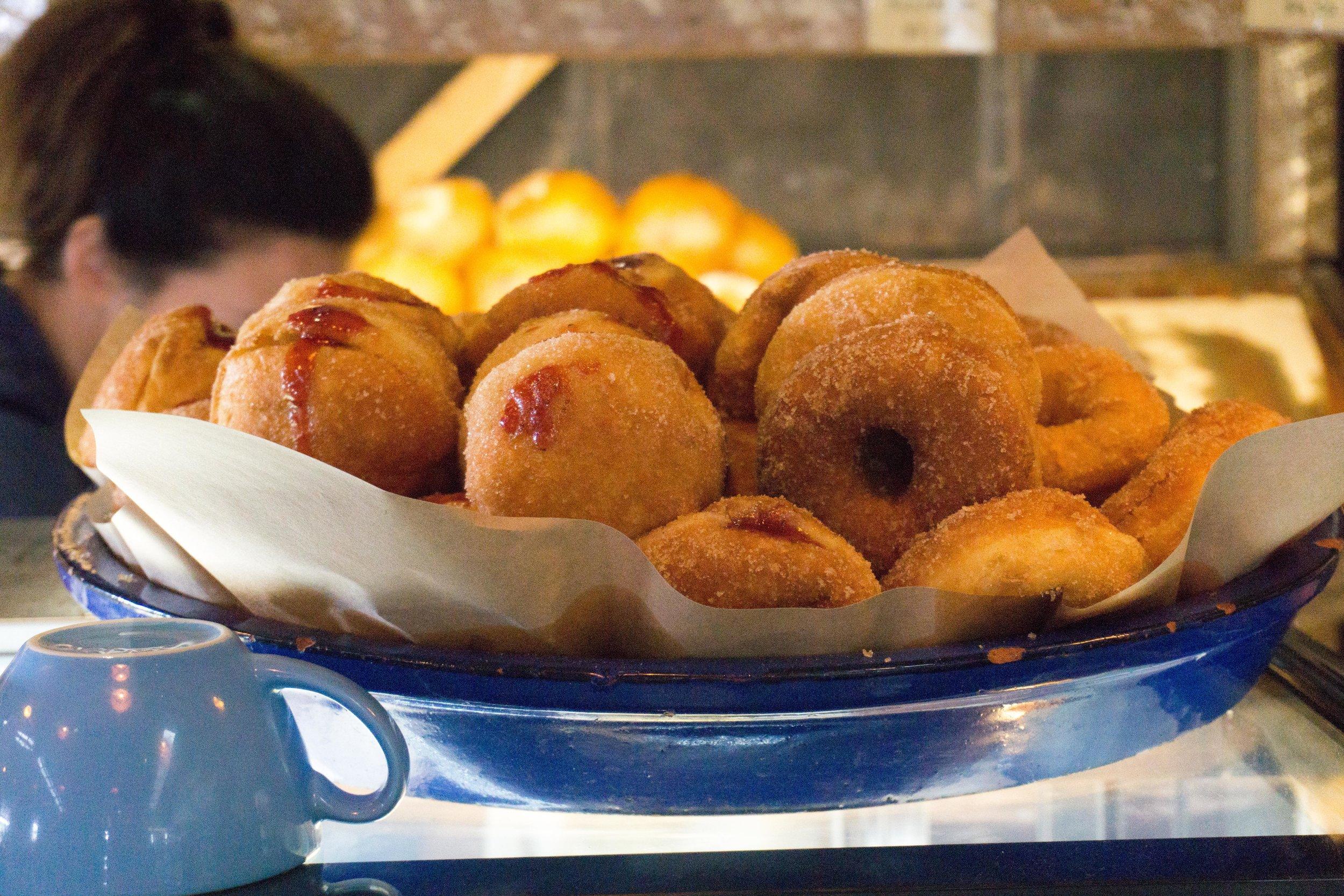 AMAZING donuts at Three Blue Ducks