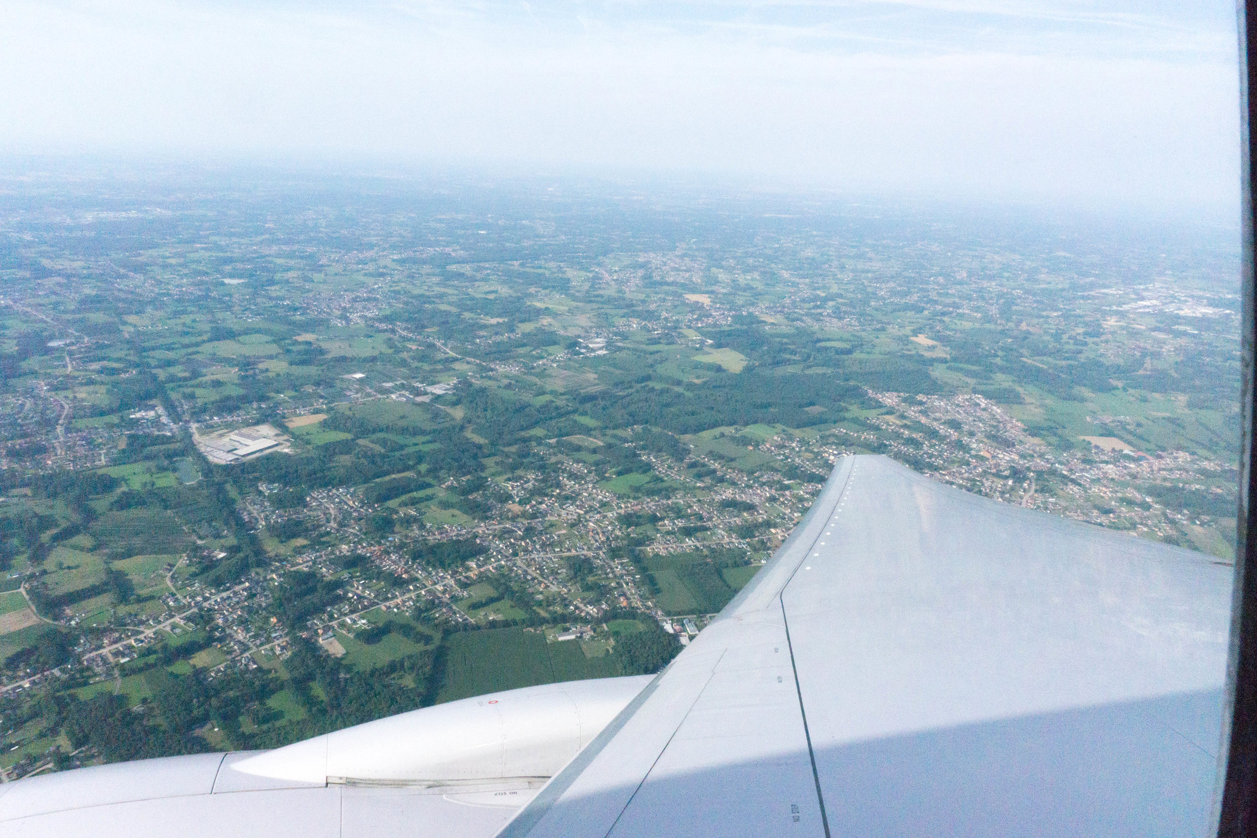 Descent into Brussels