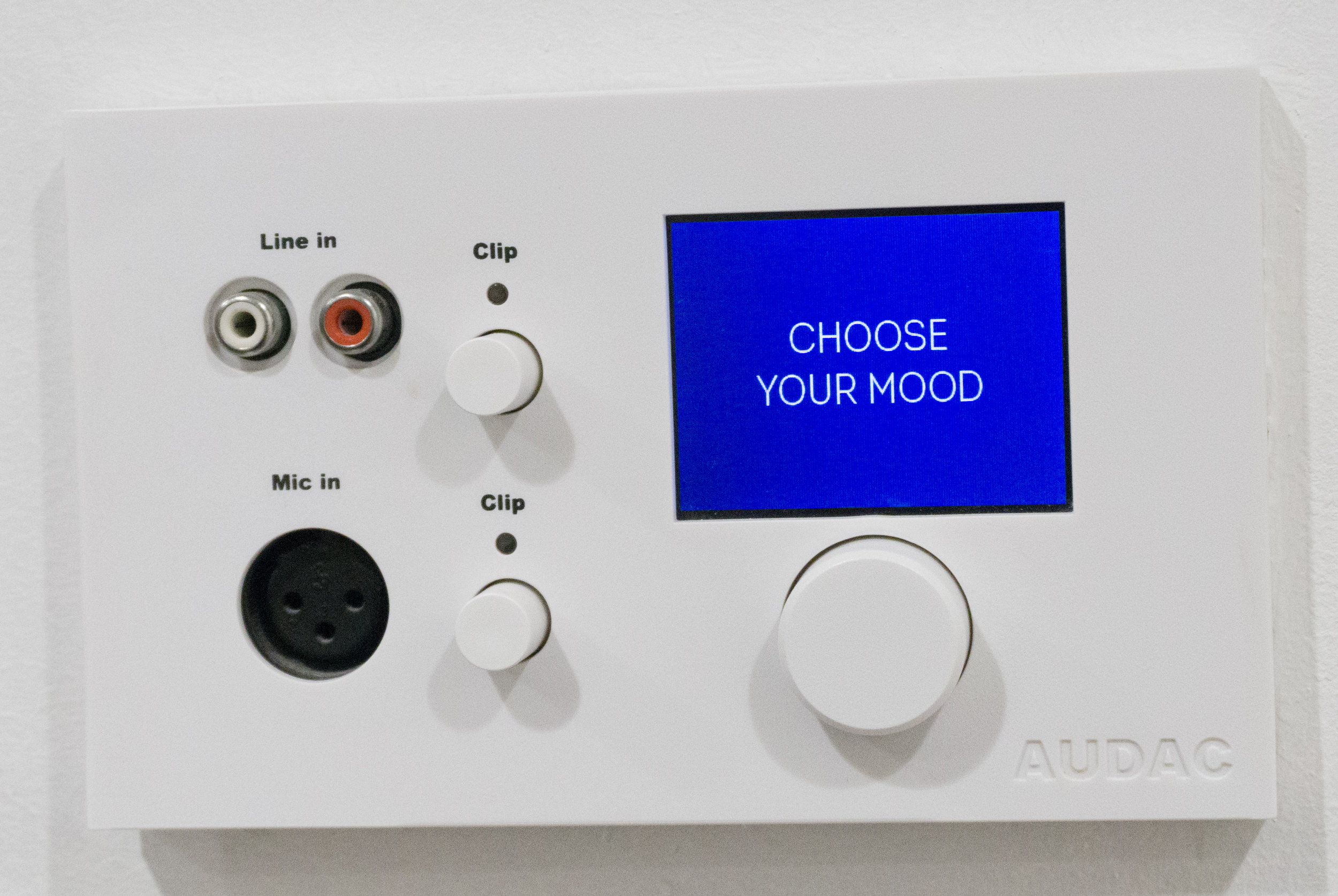 "Unnecessary ""mood"" controls"