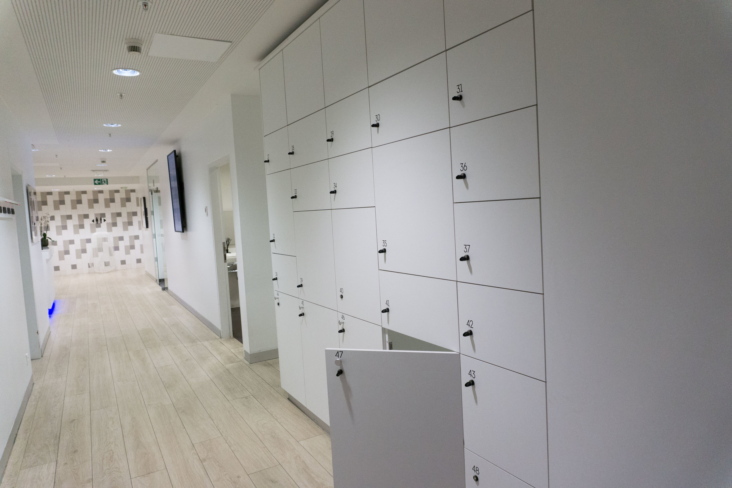 Lockers for luggage THE LOFT BRU