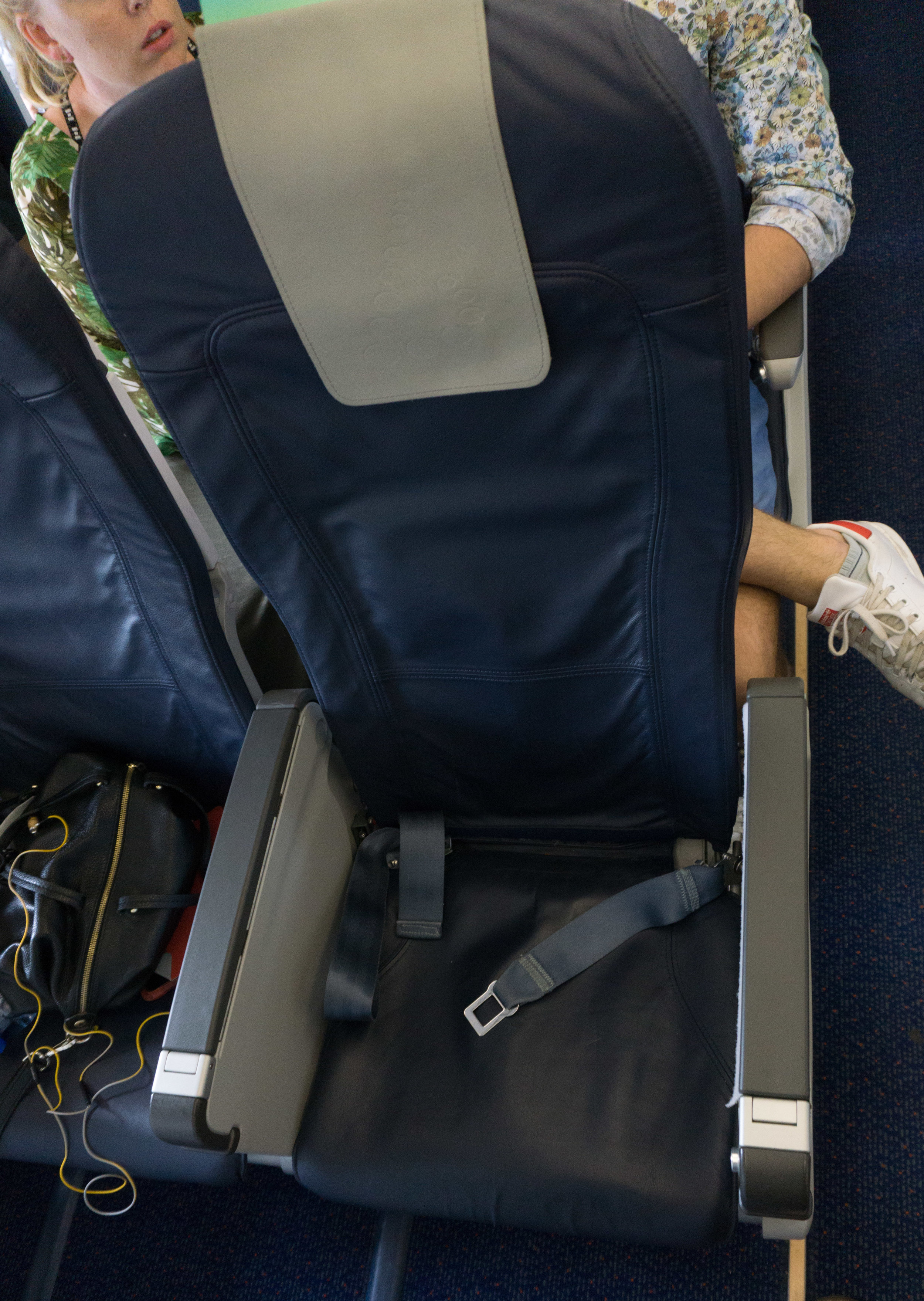 Brussels Airlines European Business Class seat