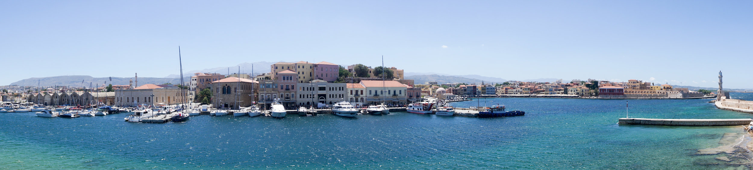 Pano of the harbor