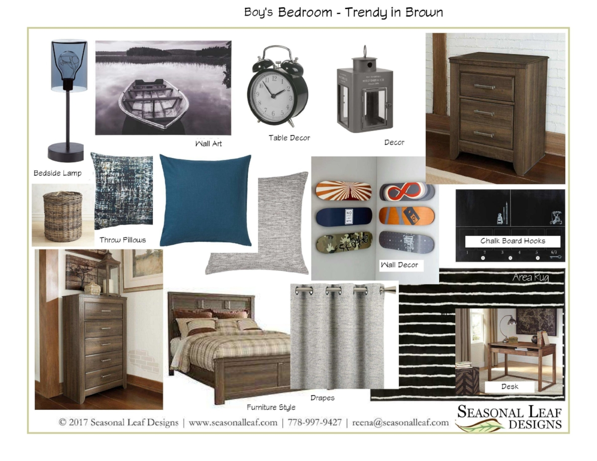 Boy's Bedroom - Trendy in Brown.jpg