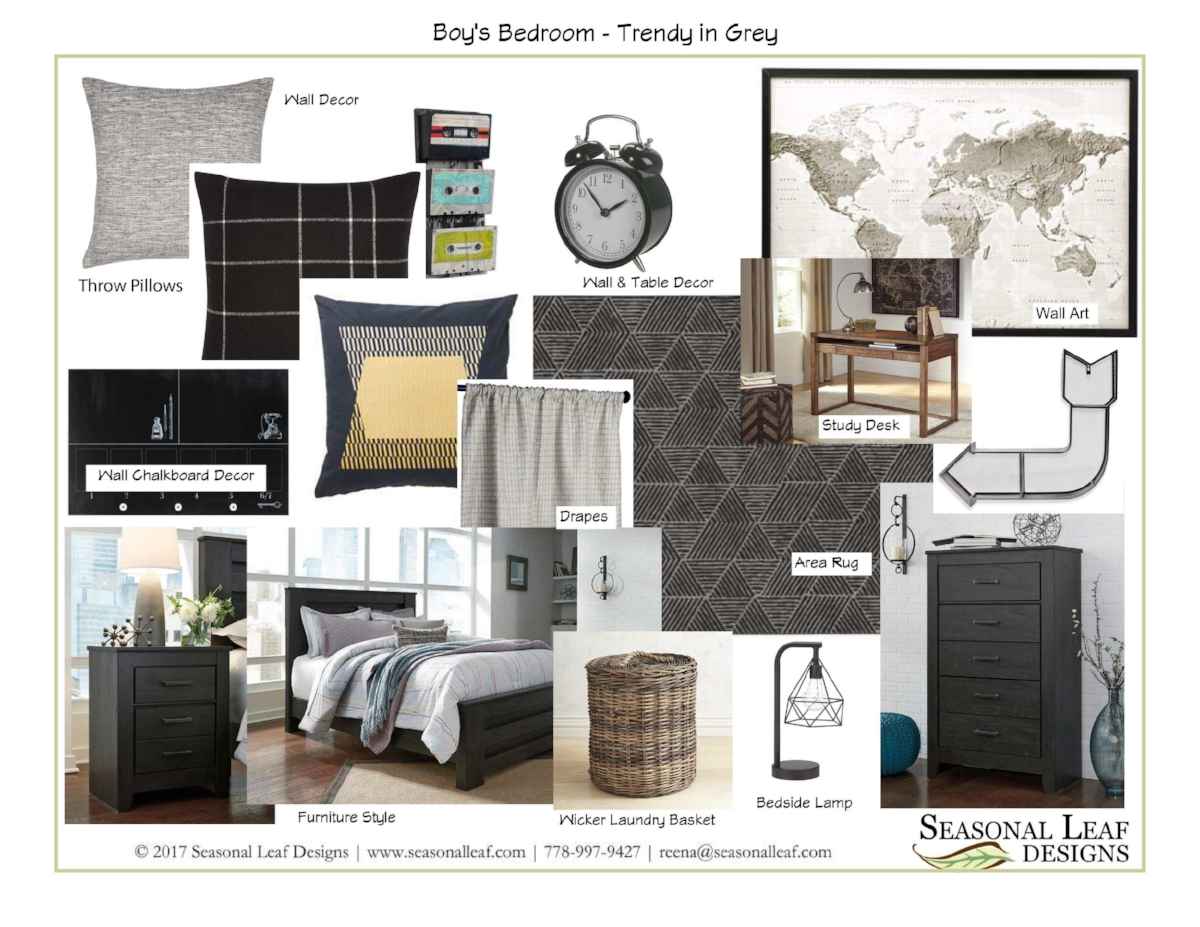Boy's Bedroom - Trendy in Grey.jpg
