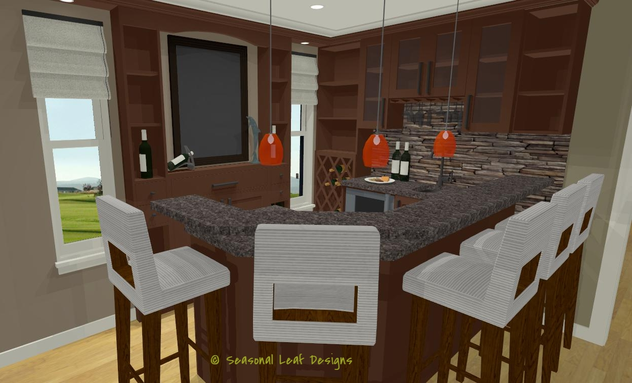 RD Bar Area 3D View 1