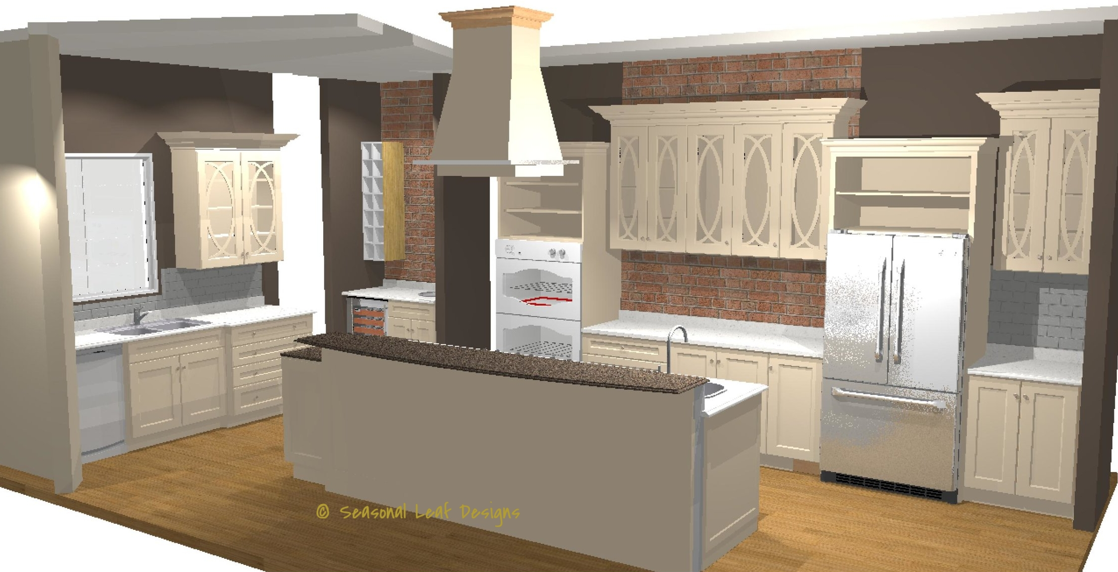 JV Kitchen 3D View 3