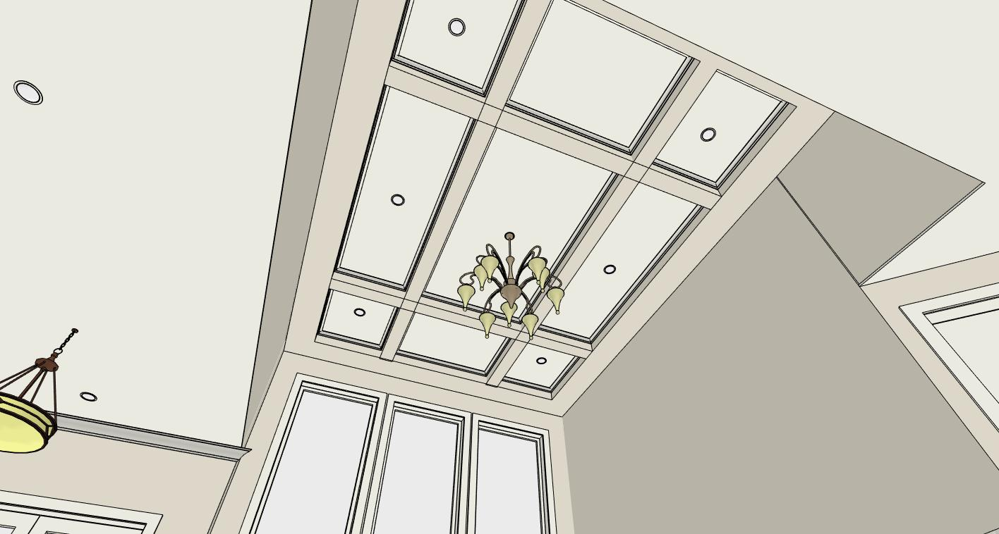 Coffered Ceiling 3