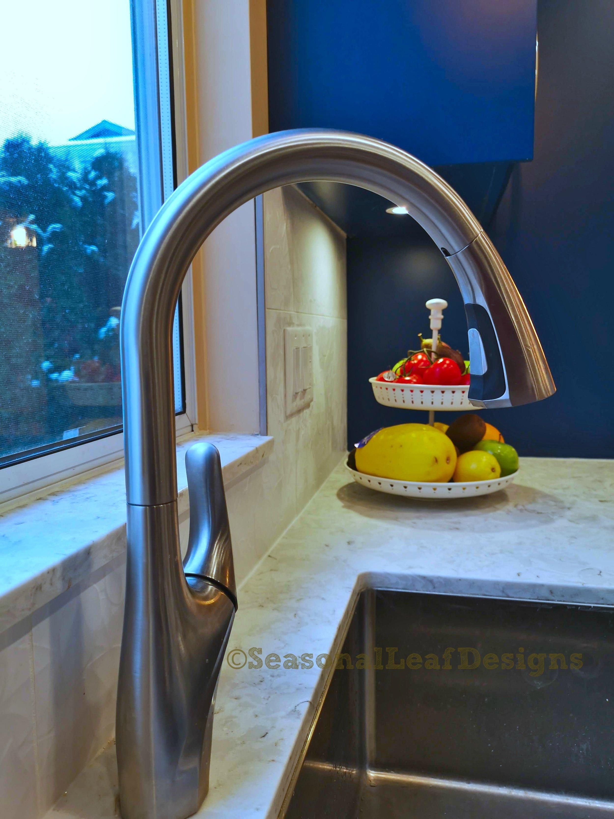 Kitchen Design Goose neck faucet