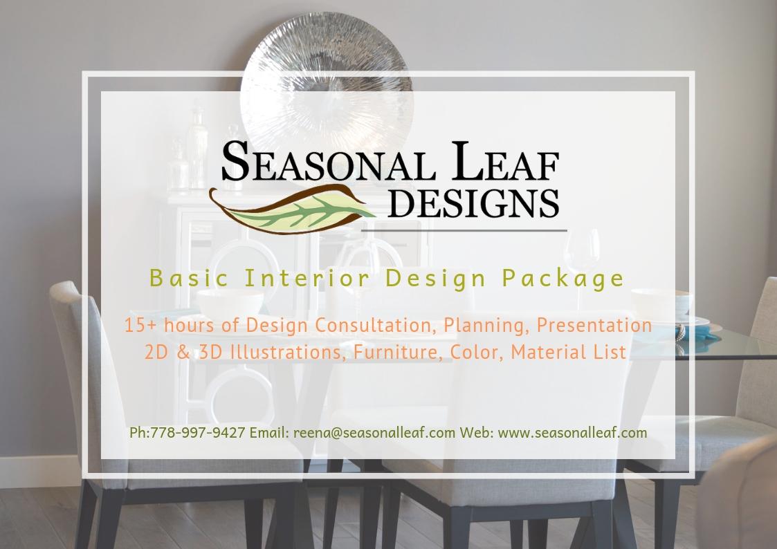 Basic Interior Design Package