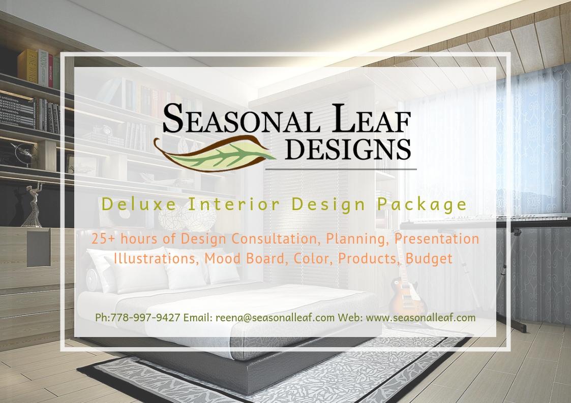 Deluxe Interior Design Package