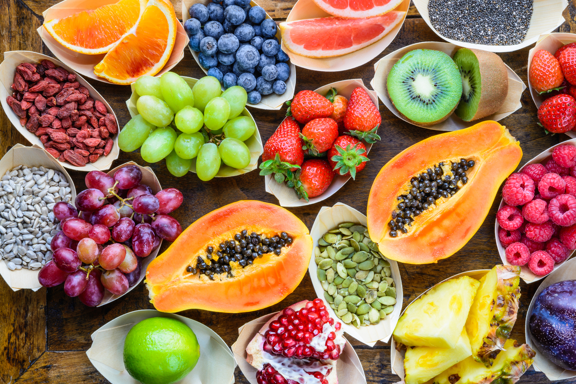 Superfruits for Good, Smooth, Radiant, Beautiful Skin