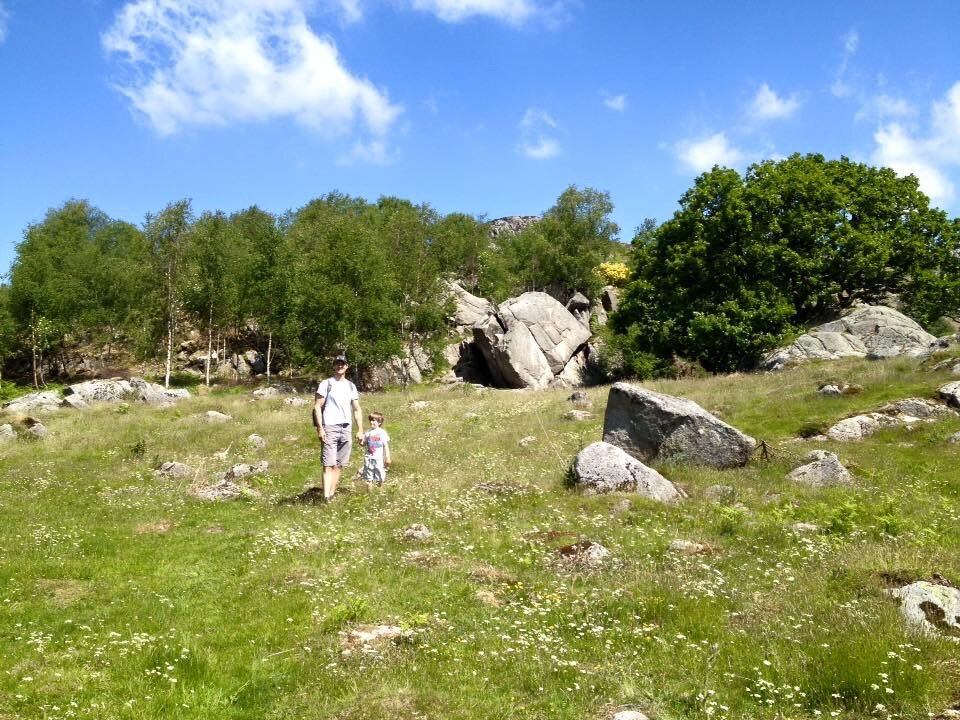 Beautiful family climbing trip to Eskdale in the Lake Districts