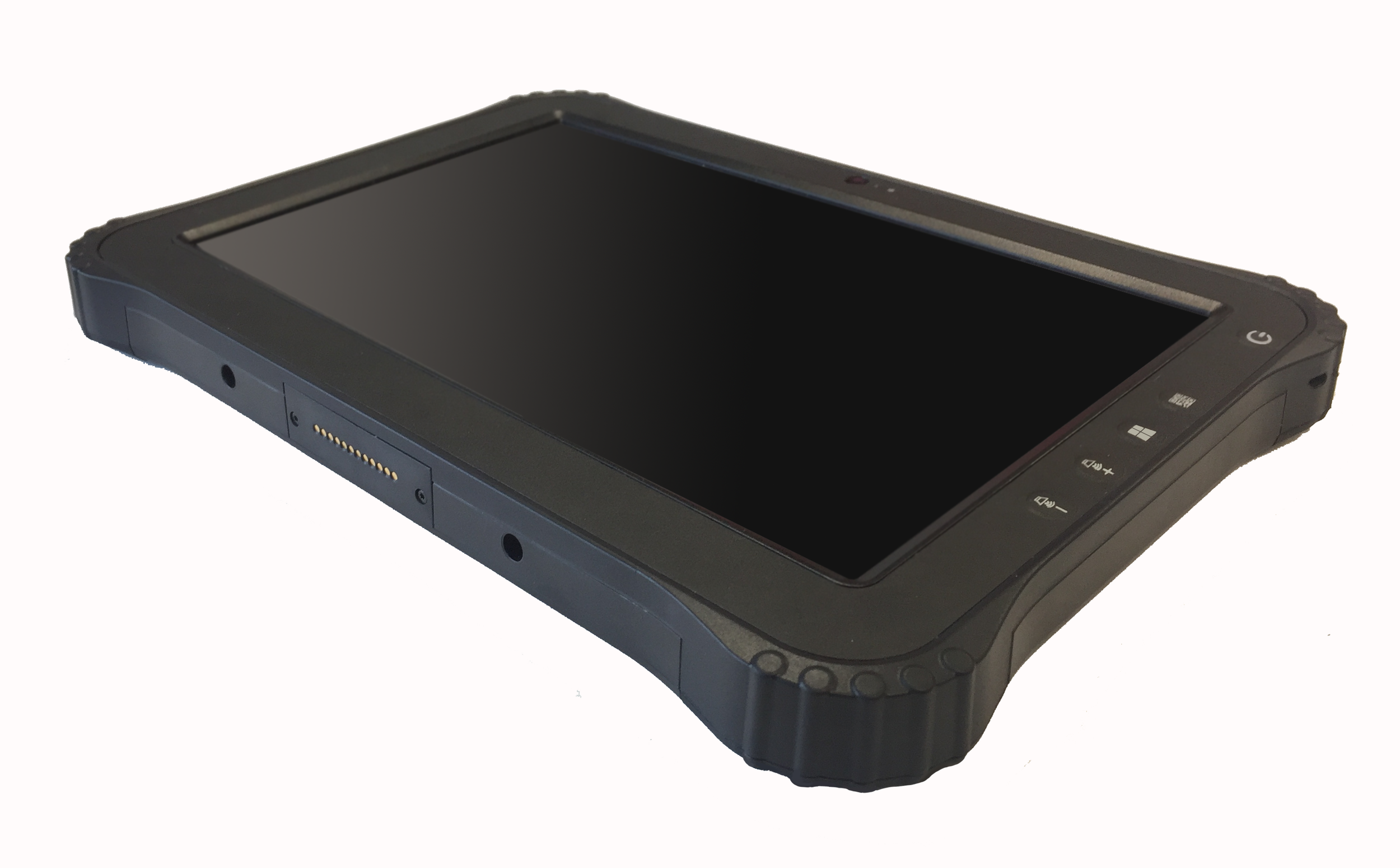 """8"""" Rugged Tablet - Tough is beautiful with this 8.1"""" tablet from CYOD. Waterproof with optional 3G/4G and fingerprint recognition, it's light enough to take almost anywhere whilst still packing a punch with functionality and desirable features."""