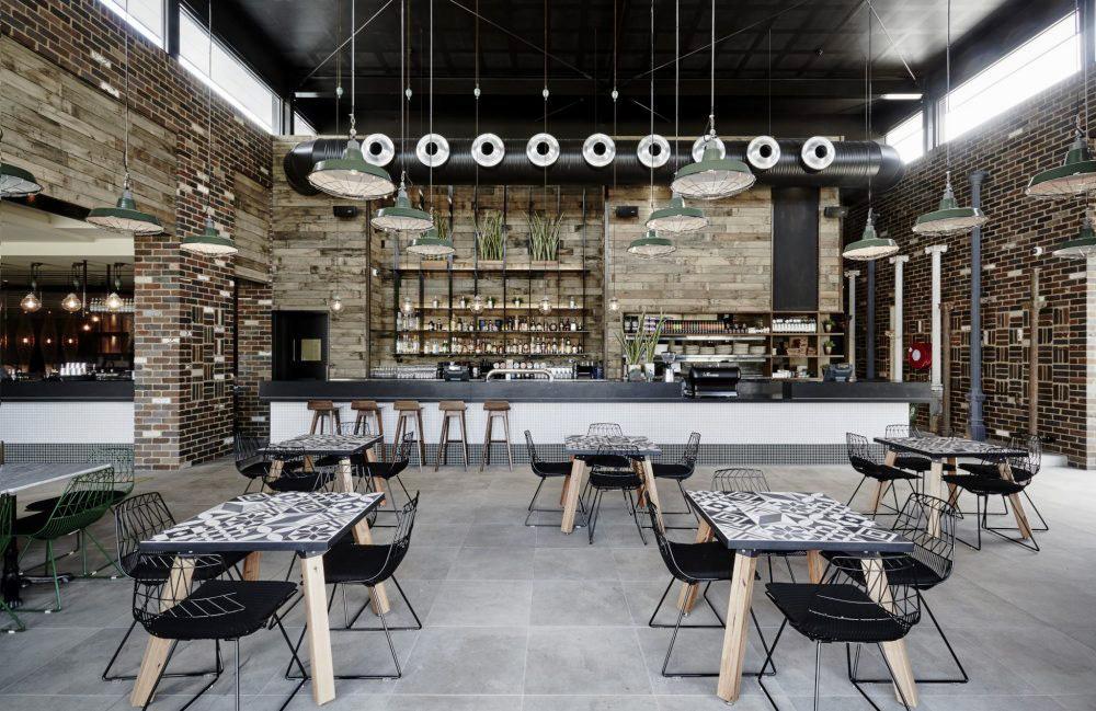 Junction Moama - custom tables. Photo c/o Studio Nine.