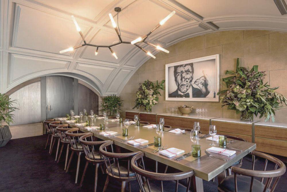 Sean's Kitchen - custom dining tables. Photo c/o Studio Nine.