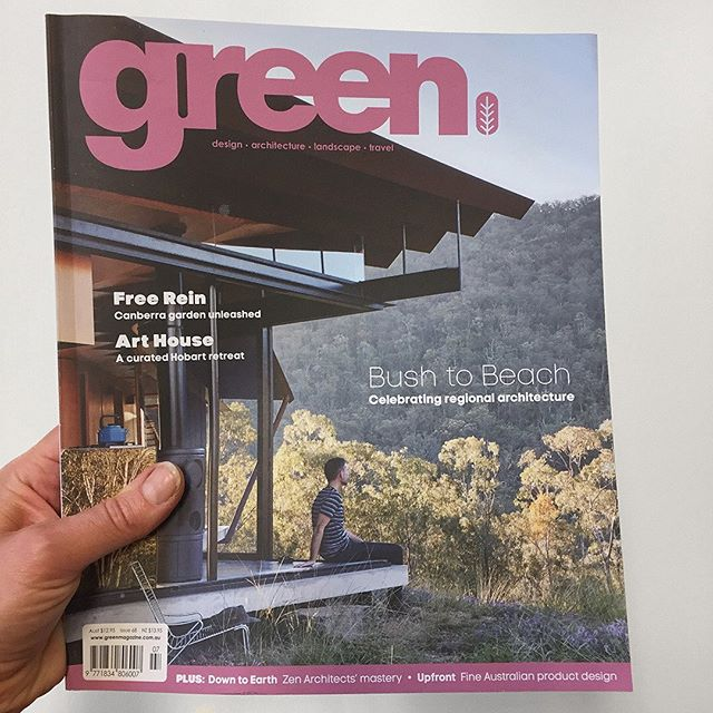 Current issue of @greenmagazine featuring my Mün chair on the Upfront design roundup. Cheers!
