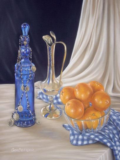 Bowl of Oranges 2