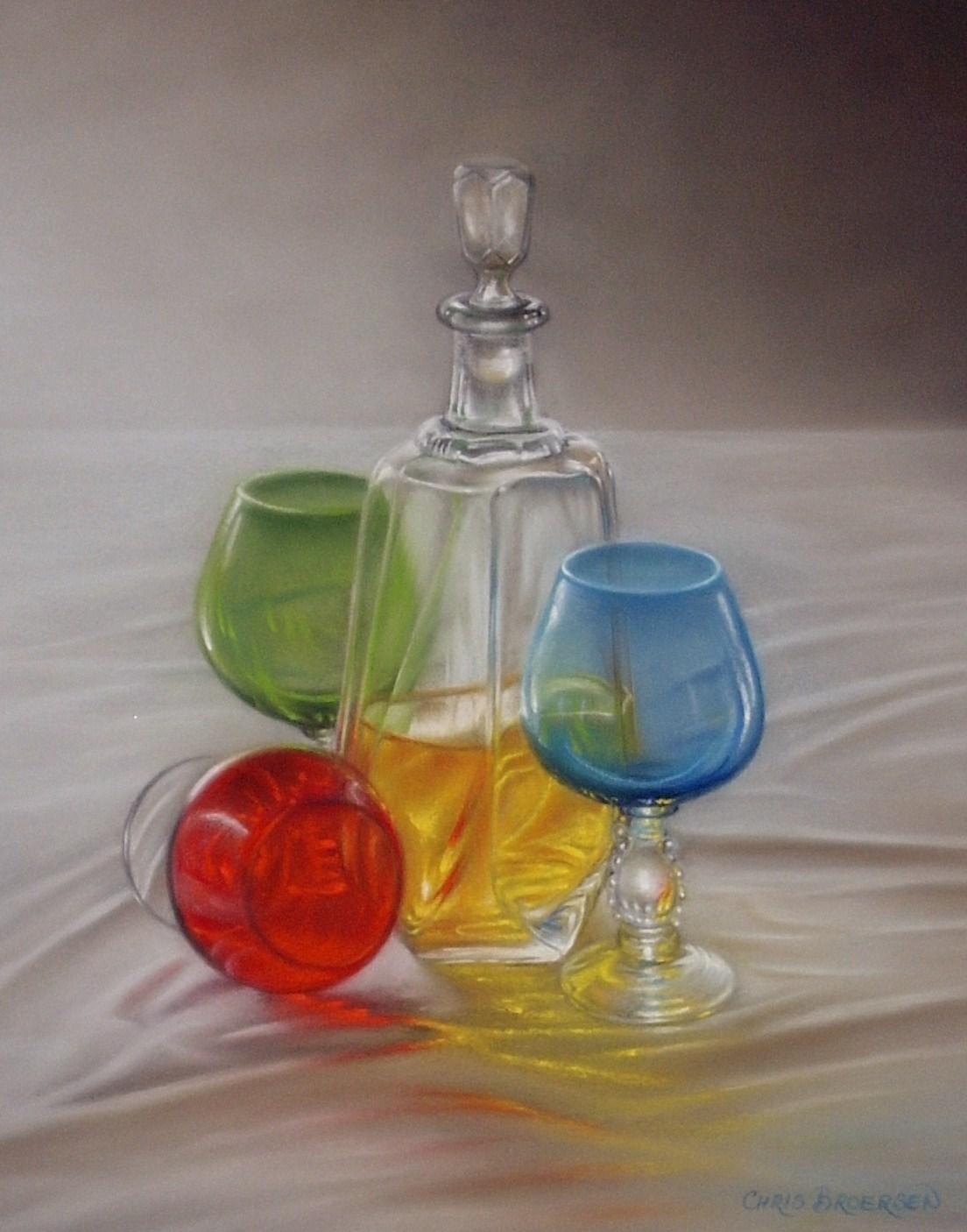 Harlequin Glass