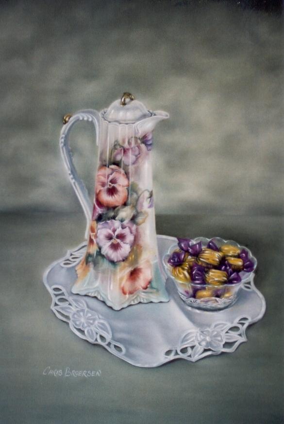 Heather's Chocolate Pot