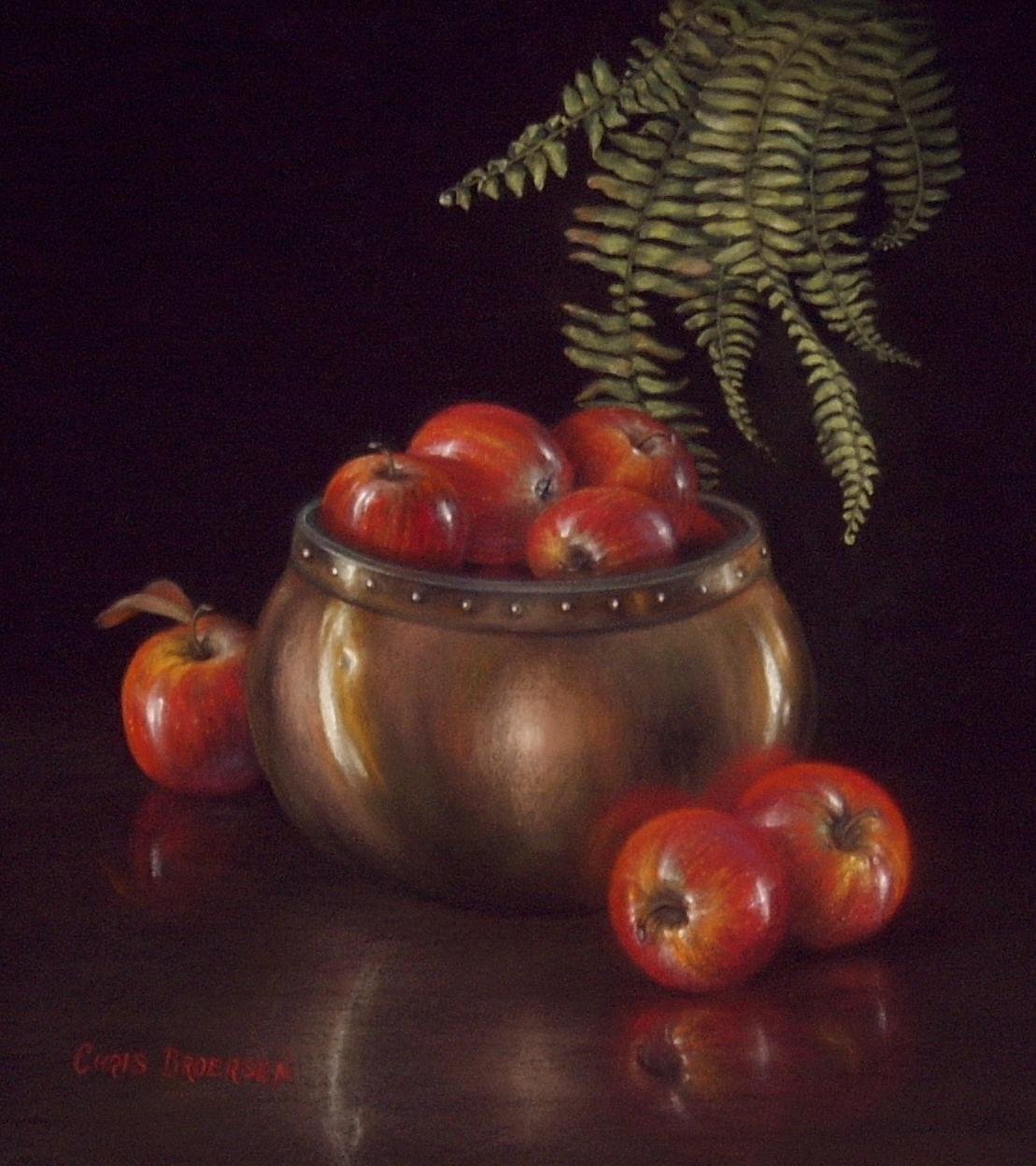 Apples in Copper Pot