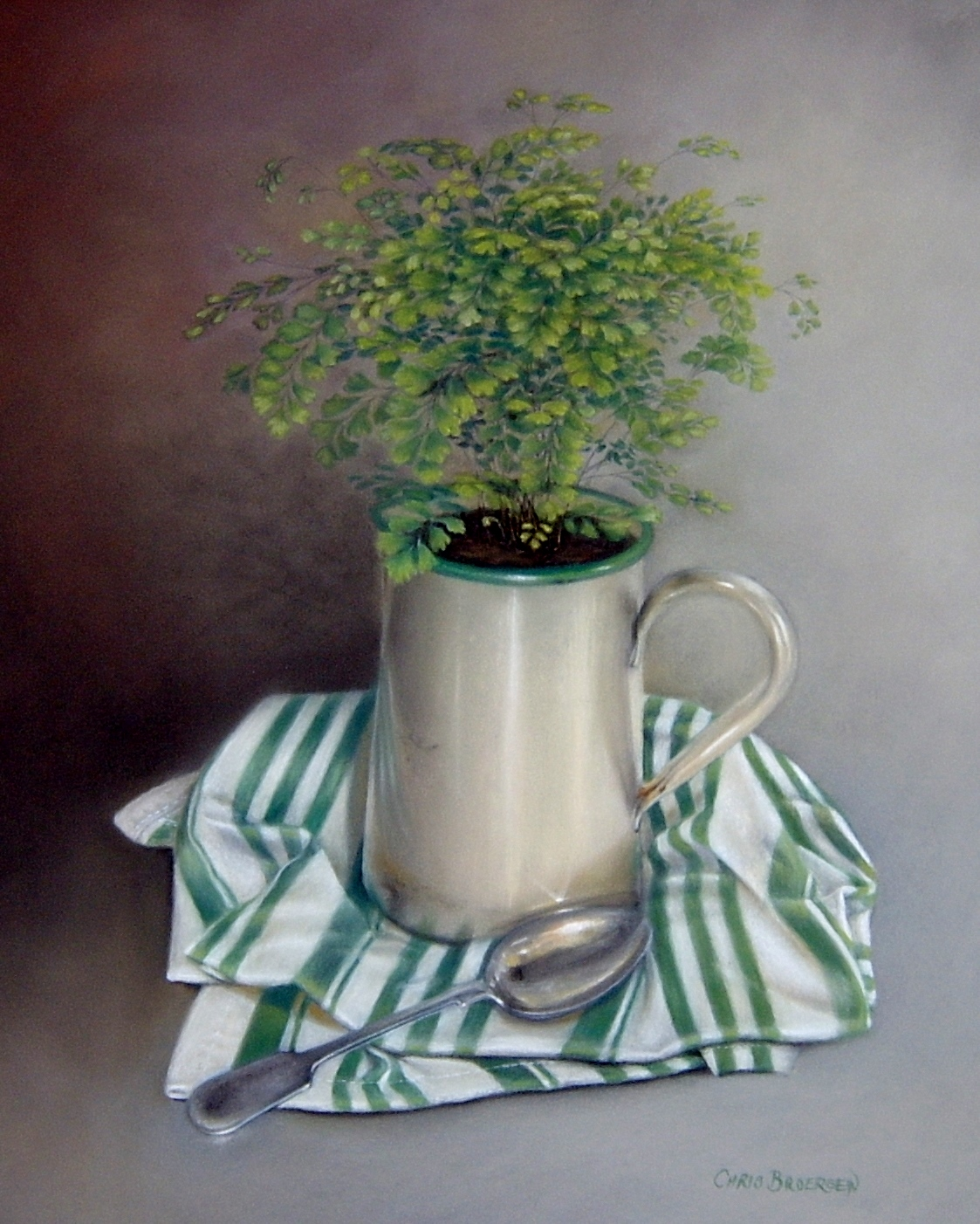 Jug with Spoon