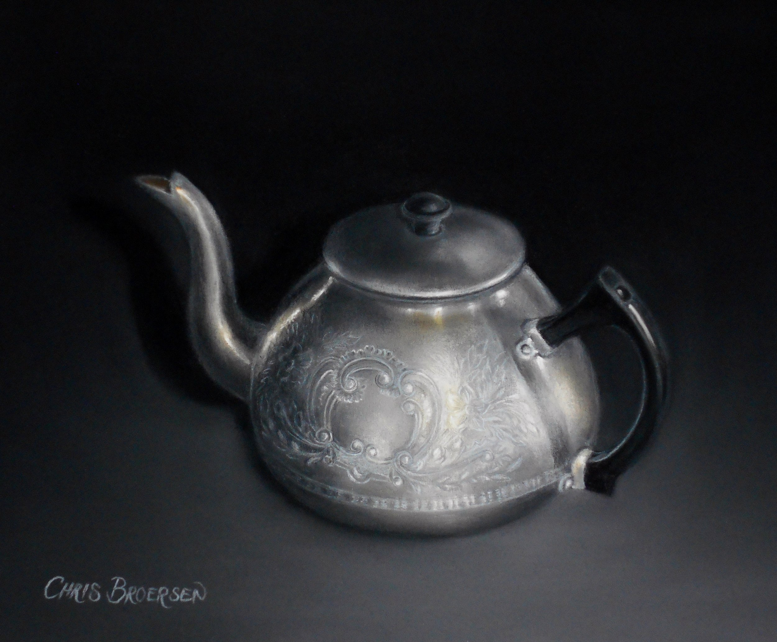 Old Fashion Teapot