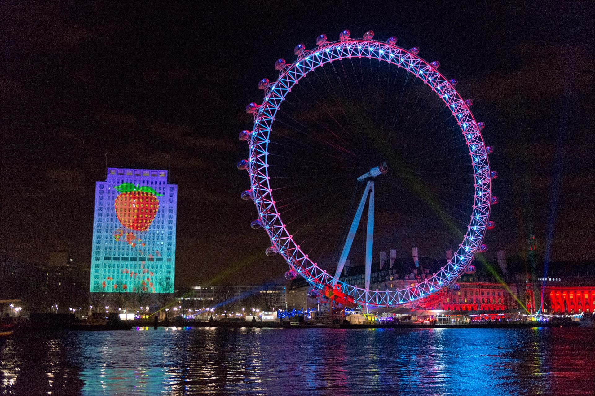Vodafone • Mayor of London's New Year's Eve Fireworks 2013