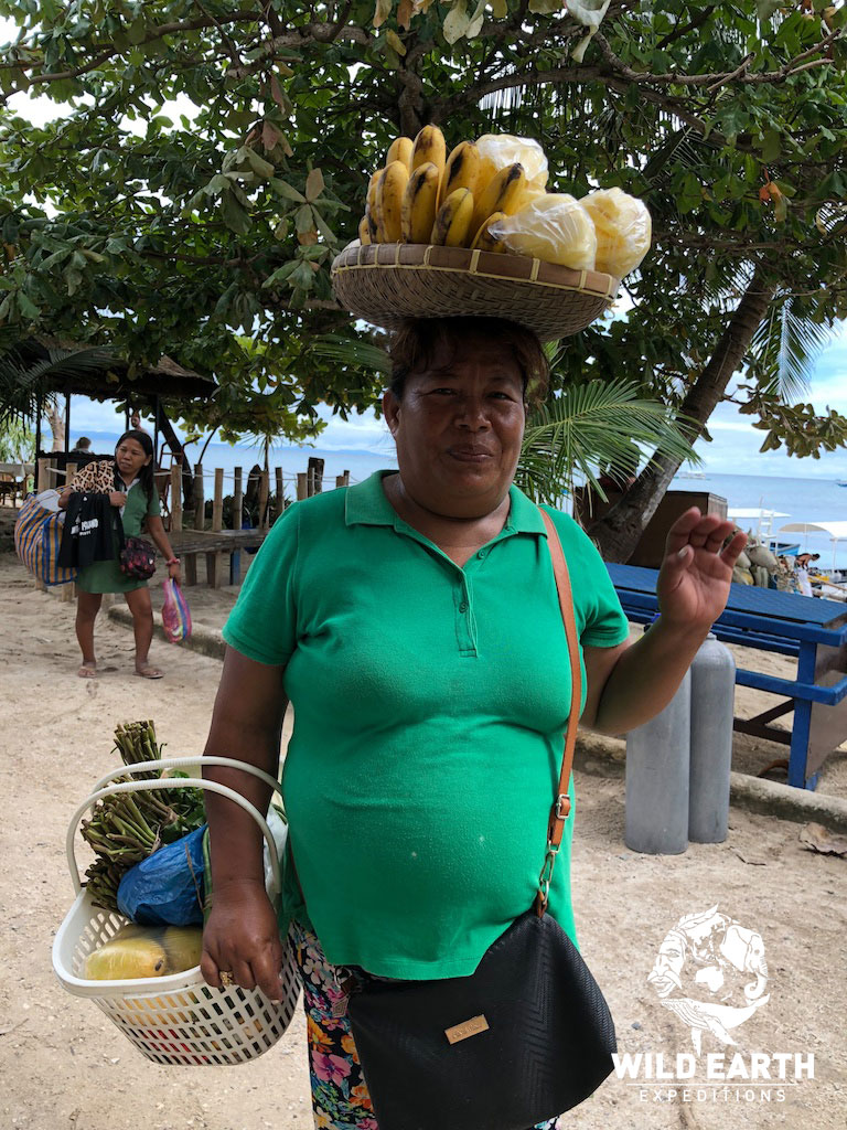 Fruit Seller, Malapascua - Philippines - Wild Earth Expeditions