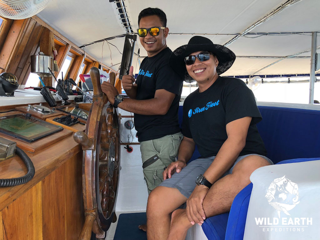 Captain, S/Y Palau Siren - Palau - Wild Earth Expeditions