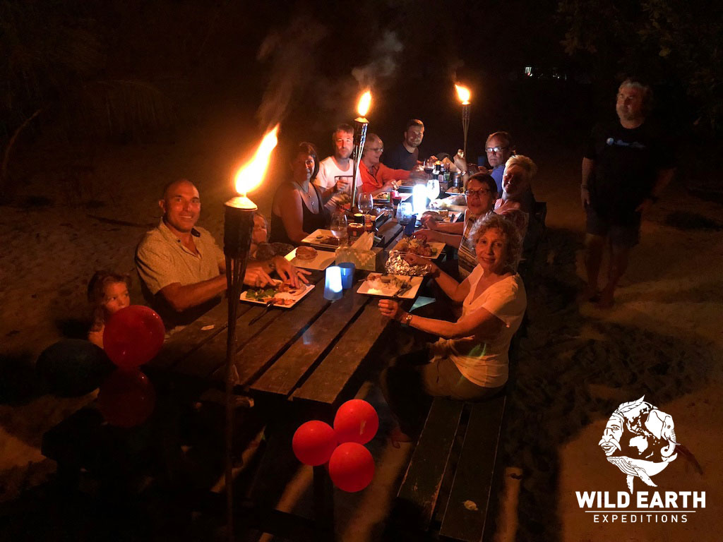Island BBQ - Palau - Wild Earth Expeditions