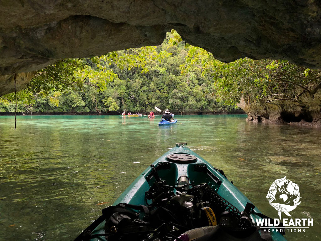 Kayaking around the Rock Islands - Palau - Wild Earth Expeditions