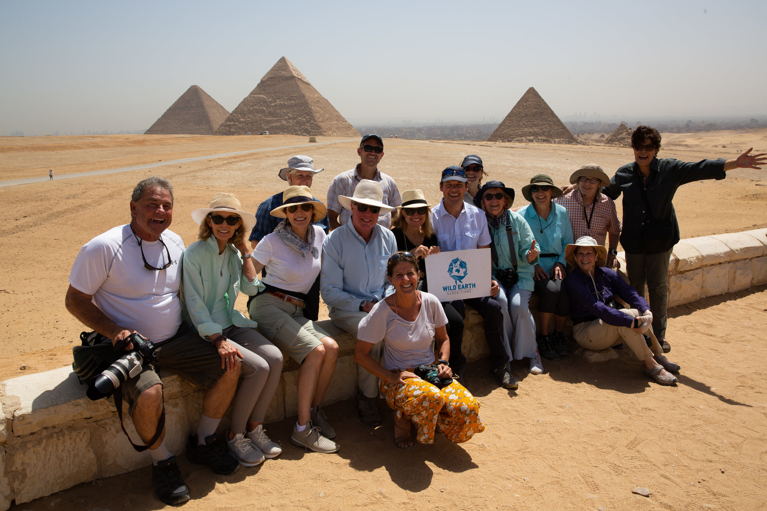The Great Pyramids, Cairo - Egypt - Wild Earth Expeditions