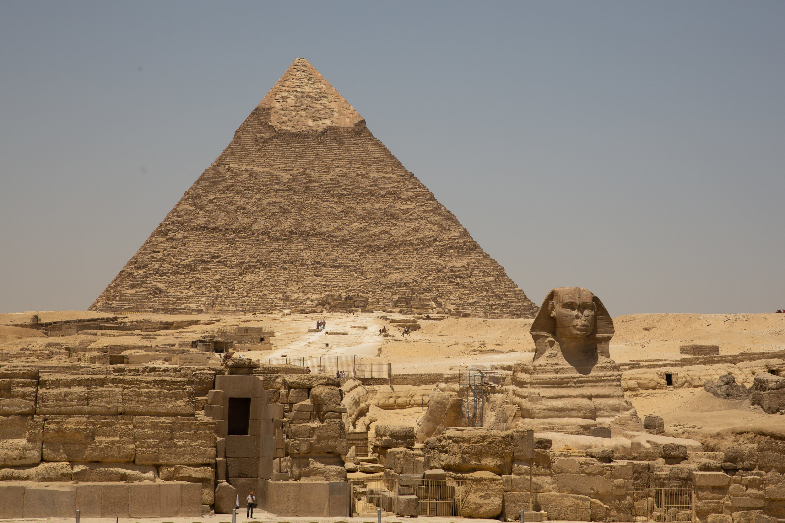 Pyramid and the Sphinx, Cairo - Egypt - Wild Earth Expeditions