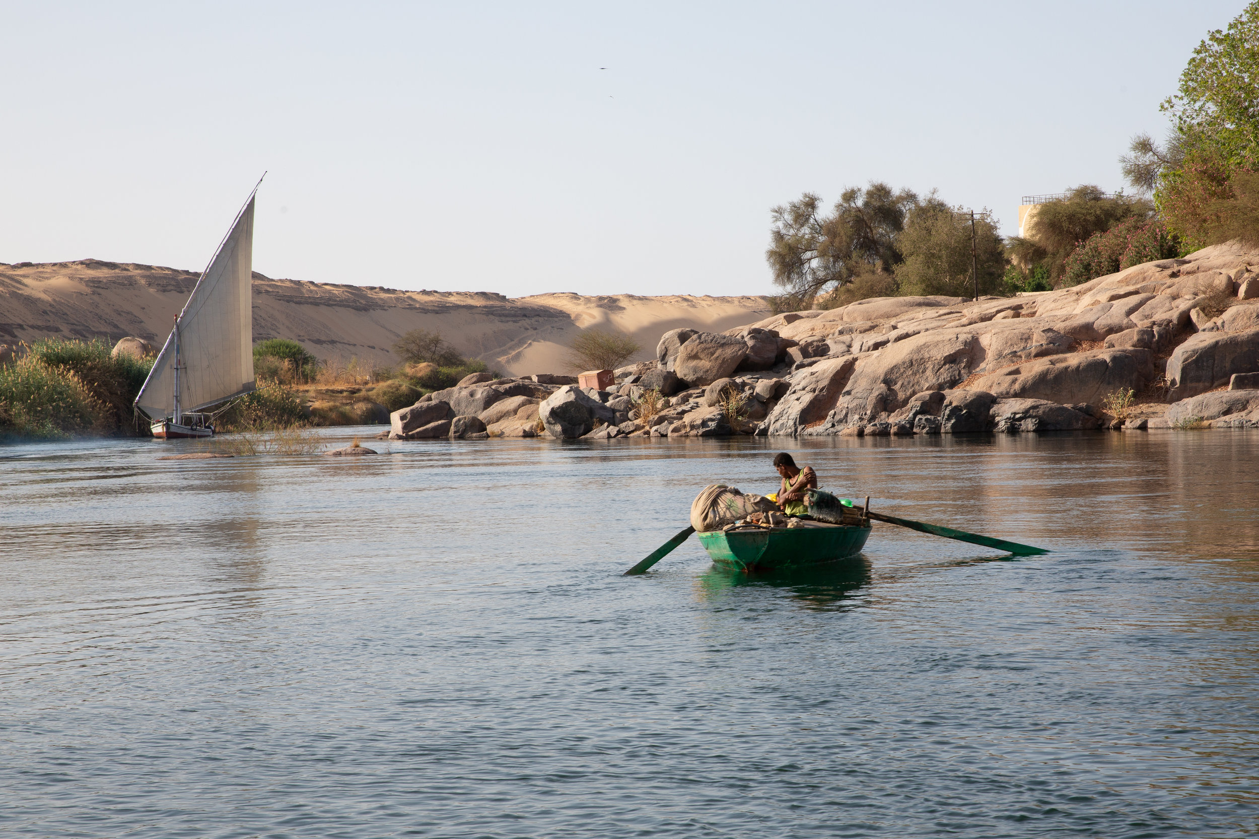Sailing on the Nile, Aswan - Egypt - Wild Earth Expeditions