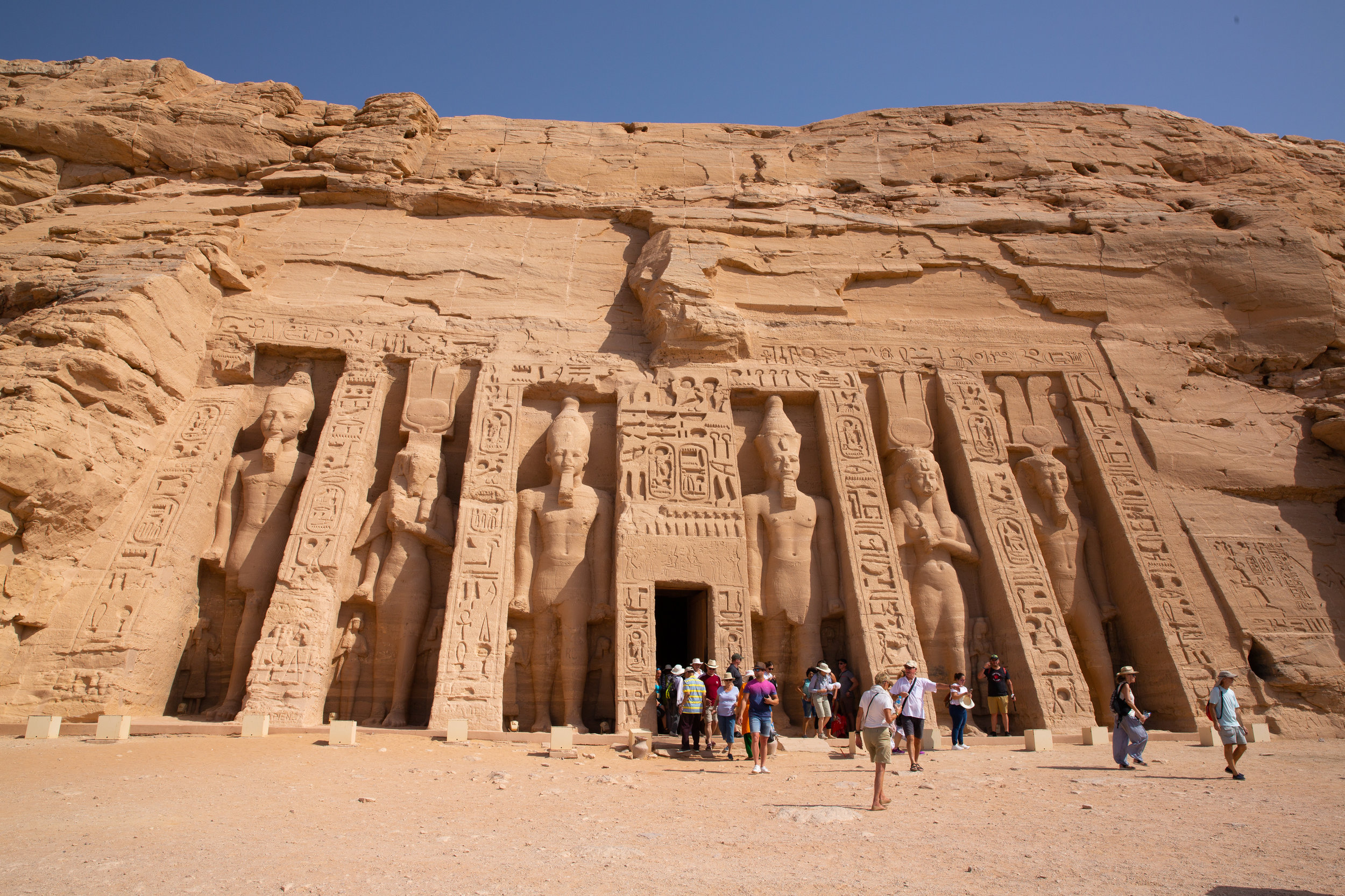 Abu Simbel Temple, Lake Nasser - Egypt - Wild Earth Expeditions