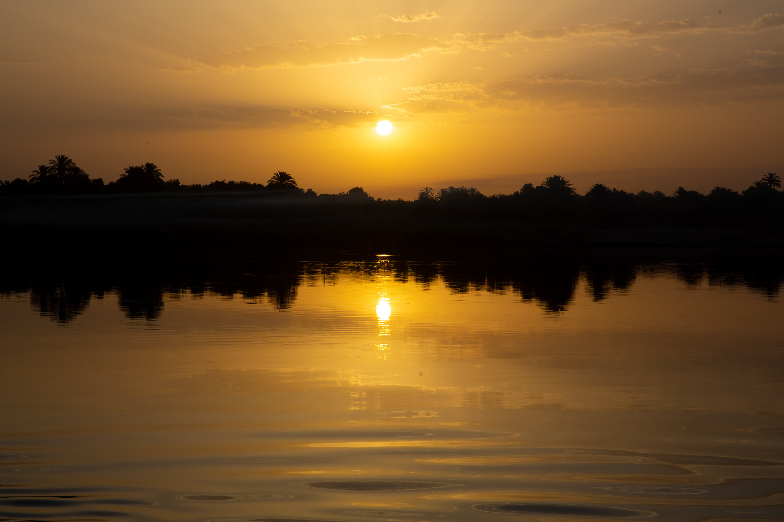 Sunset on the Nile - Egypt - Wild Earth Expeditions